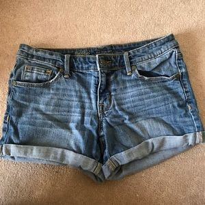Mid Rise Mossimo Jean Shorts